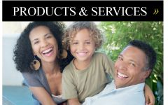 Products & Services | Family smiling